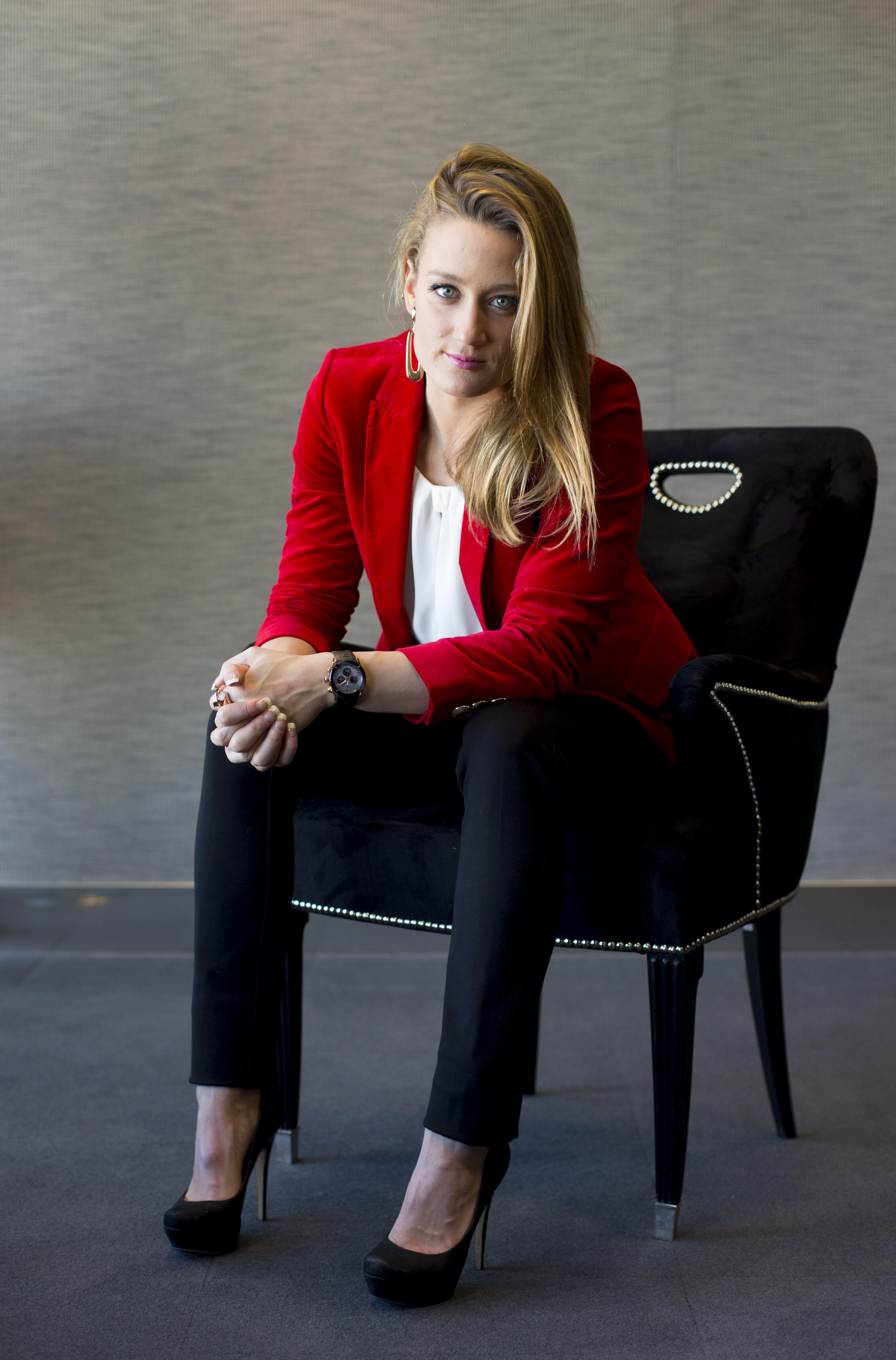 Madrid, 16 de diciembre de 2014. Entrevista a Mireia Belmonte. ARCHDC. Foto: IGNACIO GIL.