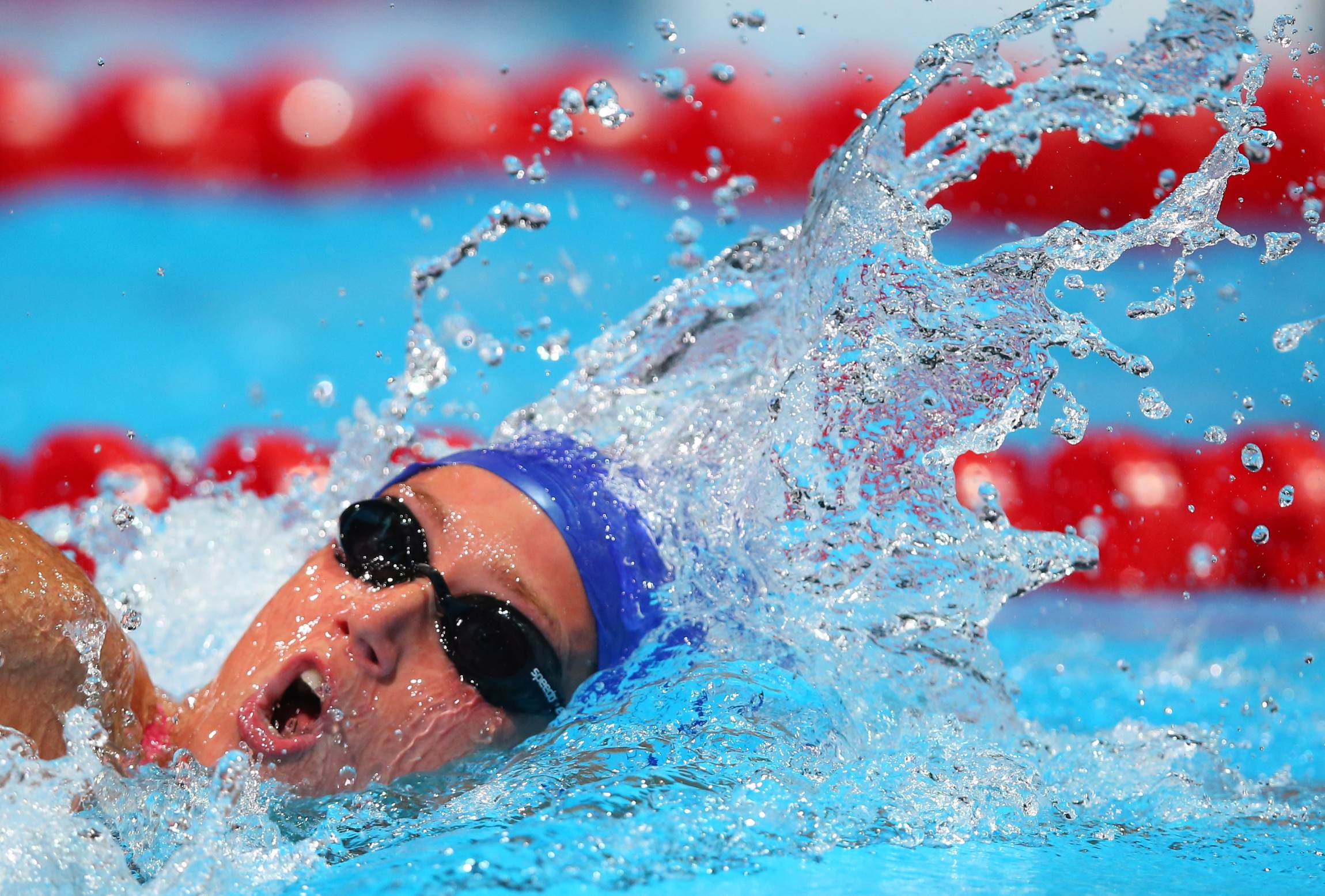 competes during the Swimming XXX on day fourteen of the 15th FINA World Championships at Palau Sant Jordi on August 2, 2013 in Barcelona, Spain.